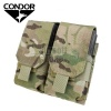 Double M14 Magazine Pouch (holds 4 mags) Multicam CONDOR