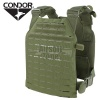LCS Sentry Plate Carrier MOLLE (laser cut) Black CONDOR