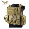 PC Style MOLLE Plate Carrier with Pouch Set Multicam FLYYE
