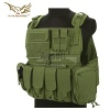 PC Style MOLLE Plate Carrier with Pouch Set OD Green FLYYE