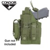 Ambidextrous MOLLE Holster for Glock OD Green CONDOR