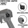 CNC Metal PT Stock Adapter for LCT & CYMA AK Series Combat Union
