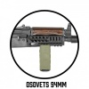 Tactical Front Rail Grip ''Osovets'' Olive RTM