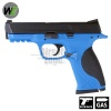 M&P Replica Full Metal Pistol Blue GBB WE