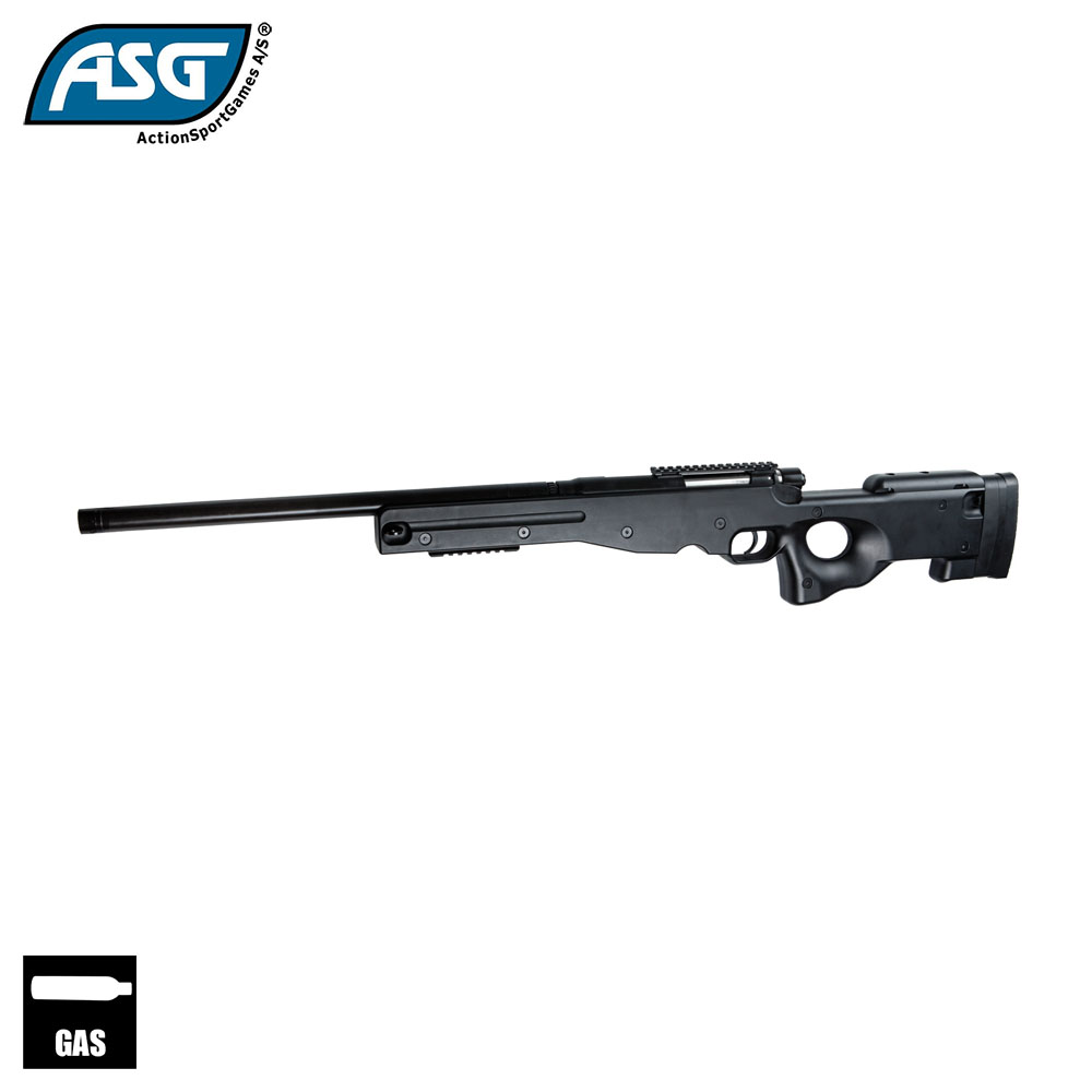 AW .308 Gas Sniper Rifle (Black) ASG