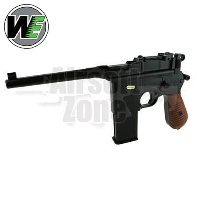 WE712 with Stock (holster) Full Metal Pistol GBB WE