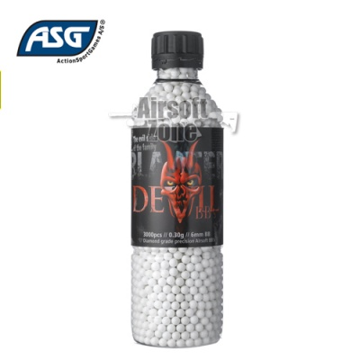 Blaster Devil 0.30g BBs Bottle of 3000 ASG