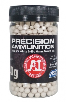 0.40g Precision Ammunition BBs Bottle of 1000 ASG