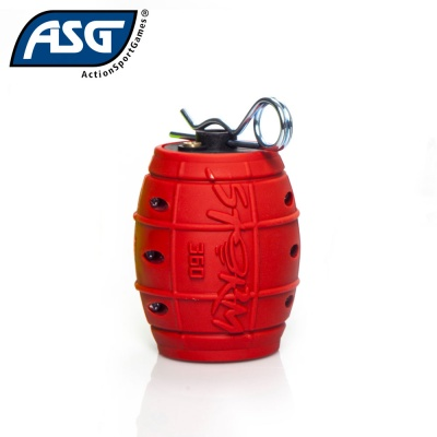 Hand Grenade Storm 360 Red ASG