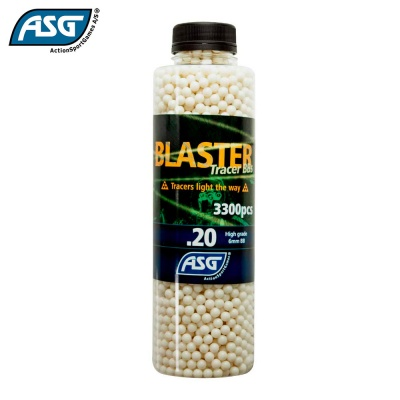 Blaster 0.20g Tracer BBs Bottle of 3300 ASG