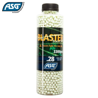 Blaster 0.28g Tracer BBs Bottle of 3300 ASG