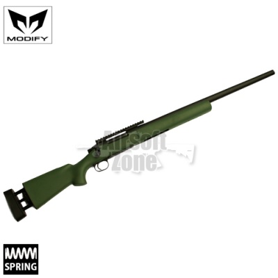 M24 MOD24 OD Green Bolt Action Spring Sniper Rifle MODIFY