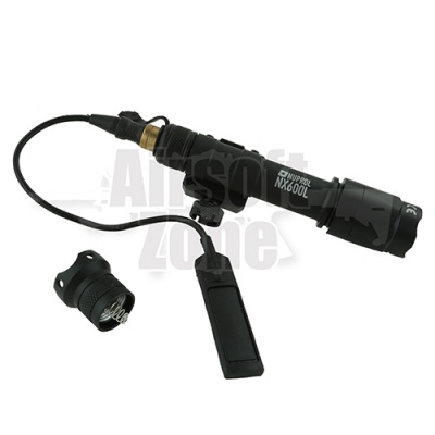 NX600 Long Tactical Light Black NUPROL