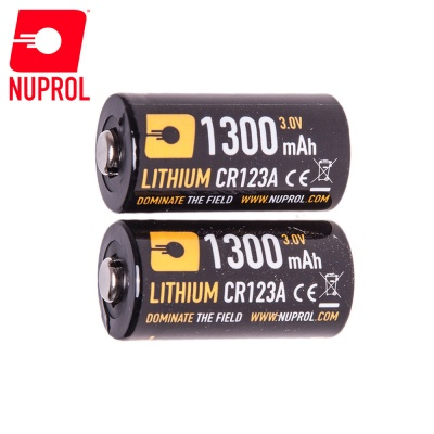 CR123A 3V Battery (pack of 2) NUPROL