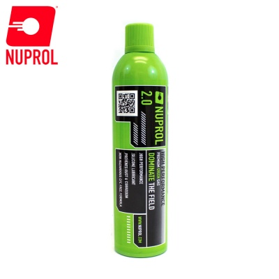 Nuprol 2.0 Premium Green Gas 1000ml (300g) NUPROL