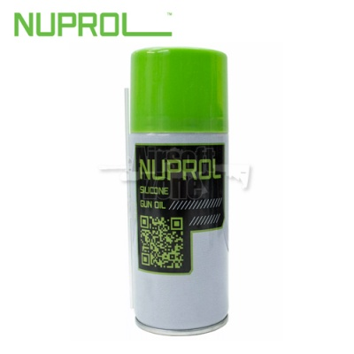 Nuprol Premium Silicone Gun Oil 180ml WE Europe