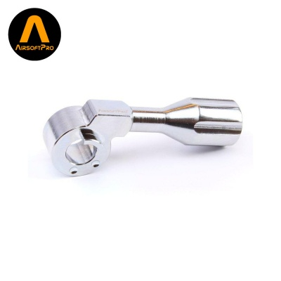 Steel Bolt Handle Silver for VSR, BAR10 and MB03 AirsoftPro