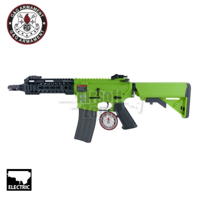 CM16 M4 300 BOT with MOSFET (Bright Green) AEG G&G