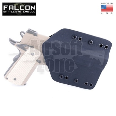 Enforcer Kydex Holster for TM/WE Hi Capa/1911 Black FKT