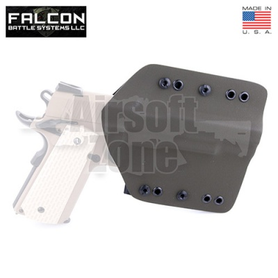 Enforcer Kydex Holster for TM/WE Hi Capa/1911 OD Green FKT
