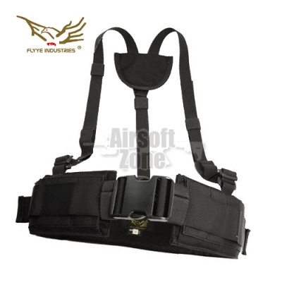Right Angle Belt Ver. FE Black MOLLE FLYYE