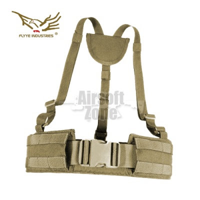 Right Angle Belt Ver. FE Khaki MOLLE FLYYE
