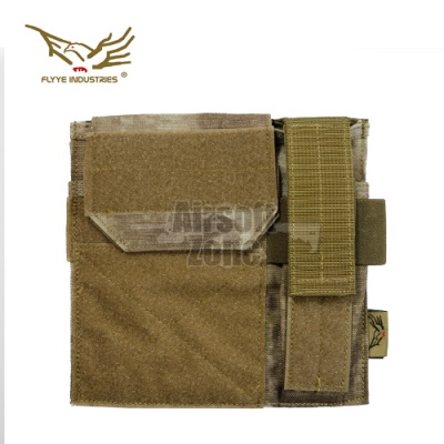 Admin Panel with Pistol Pouch A-Tacs MOLLE FLYYE