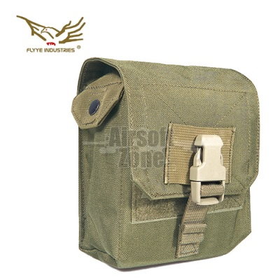 M60 100rds Ammo Pouch Khaki MOLLE FLYYE
