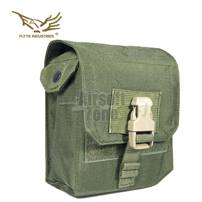 M60 100rds Ammo Pouch OD Green MOLLE FLYYE
