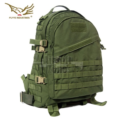 3 Day MOLLE Backpack OD Green FLYYE