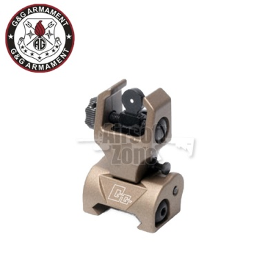 Flip-up Rear Sight Desert Tan G&G