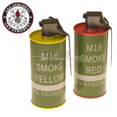 M18 Smoke Grenade (BB Can) Set G&G