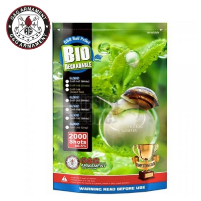 0.33g Bio BBs Bag of 2000 G&G