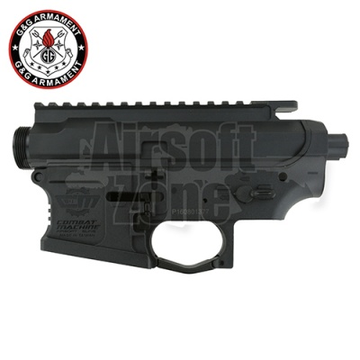Plastic Receiver Set for CM16 Series (Black) G&G