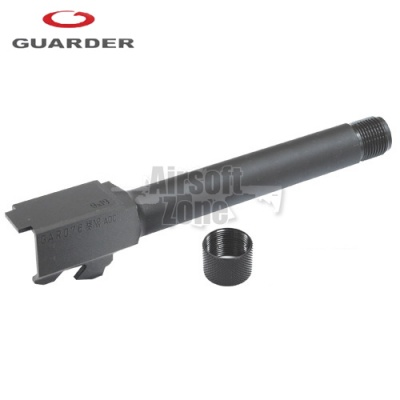 Steel Threaded (14mm Negative) Outer Barrel for TM Glock 17 (2012 New Version) Guarder