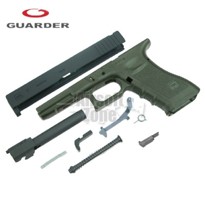 Enhanced Full Kit for Marui Glock 17 (2012 Version) OD Green Guarder