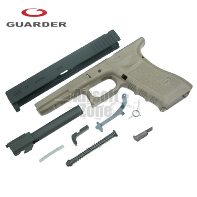 Enhanced Full Kit for Marui Glock 17 (2012 Version) Tan Guarder