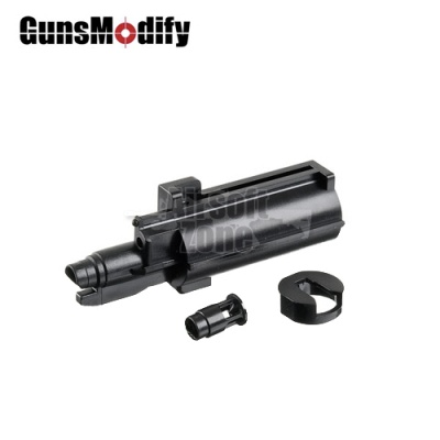 Reinforced High Flow Nozzle (Ver 2) Set for Marui MP7 GBB Guns Modify