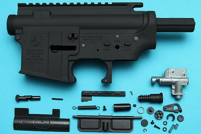M16A3 Metal Body Colt Laser Markings G&P
