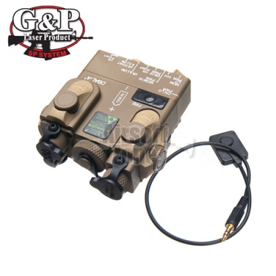 Dual Laser Destinator and Illuminator Sand G&P