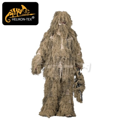 Ghillie Suit Digital Desert Set HELIKON