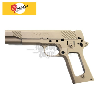 Aluminium Slide and Frame for MARUI MEU.45 (TAN) Guarder