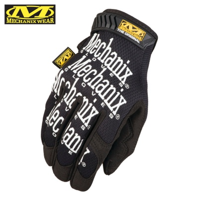 The Original Glove Black (White Letters) Mechanix