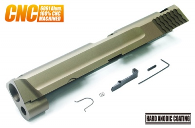 Aluminum CNC Slide for TM M&P 9mm FDE Tan Guarder