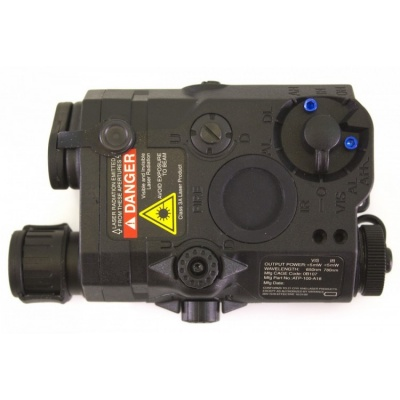 AN/PEQ-15 (NPQ15) Illuminator Laser and LED Light Torch Black NUPROL