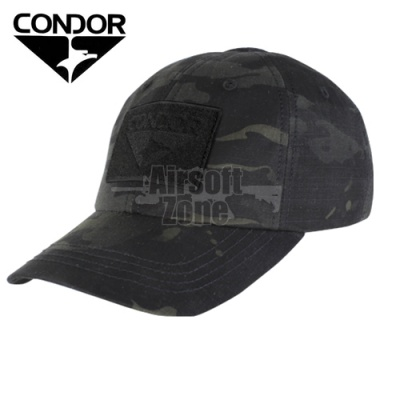 Tactical MULTICAM BLACK Baseball Cap with Velcro CONDOR