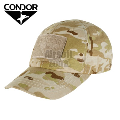 Tactical MULTICAM ARID Baseball Cap with Velcro CONDOR