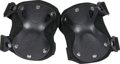 Hard Shell Knee Pads Black Viper Tactical