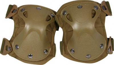 Hard Shell Knee Pads Coyote Viper Tactical