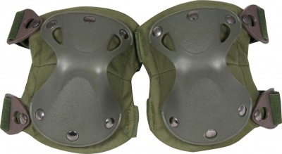 Hard Shell Knee Pads OD Green Viper Tactical